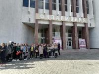 Студенты литературного клуба «Театр Книги» посетили открытие «Забайкальской осени 2021»