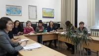 В рамках юбилея кафедры иностранных языков был проведен круглый стол