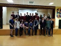 Преподаватели и студенты ЧИ БГУ посетили школы п.Агинское