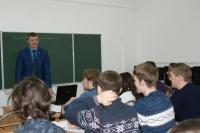 Начальник отдела торгового эквайринга рассказал студентам ЧИ БГУ о стратегическом направлении развития Сбербанка