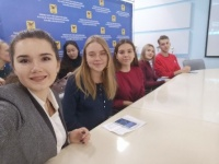 Студенты и преподаватели ЧИ БГУ провели Международный видео-чат