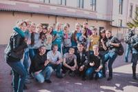 В Нархозе состоялось «Посвящение первокурсников в студенты»