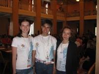 Студенты ЧИ БГУЭП помогают работе форума молодых политиков