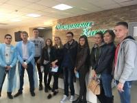 Студенты побывали с экскурсией на производственном предприятии «Читинские ключи»