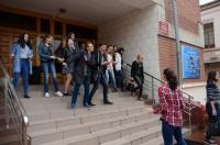 Танцевальный флэшмоб  состоялся во дворе ЧИ БГУ 9 сентября