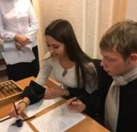 Студенты-первокурсники группы ФК-17 14 октября посетили отделение ЦБ РФ