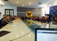 Студенты ЧИ БГУ приняли участие в международном видео-чате и напрямую пообщались со студентами Китая и США