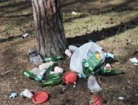 Cтуденты ЧИ БГУ собрали 100 мешков мусора на федеральной трассе