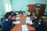 Высокий уровень подготовки студентов-юристов ЧИ БГУ отметили на заседании «Союза ветеранов органов следствия»