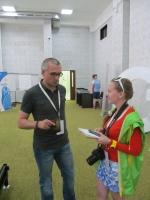 На Медиафоруме «Студвесны стран ШОС» началась презентация медиа-проектов делегаций