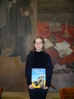 Коллектив библиотеки Читинского института БГУ выражает благодарность Бураковой Ксении