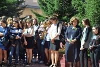 Торжественная линейка завершила первый учебный день в ЧИ БГУ