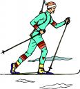 В новогодние каникулы организован прокат лыж и коньков