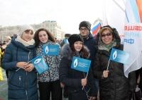 Студенты Нархоза приняли участие в митинге, посвященному Дню народного единства
