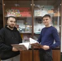 Книжная выставка к Дню Победы подготовлена в библиотеке ЧИ БГУ