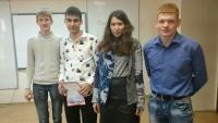 Команда студентов ИСТУ-13 одержала победу в региональном туре Всероссийской олимпиады по прикладной информатике ПИ-2016
