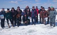 На озере Арахлей прошел ежегодный чемпионат ЧИ БГУ по подледной рыбной ловле