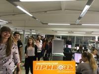 Студенты побывали на торговом предприятии «Забайкальский Привозъ»