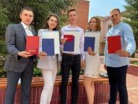 Церемония вручения дипломов в ЧИ БГУ проходит в индивидуальном порядке
