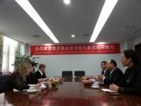 Делегация ЧИ БГУЭП с официальным визитом посетила вузы КНР