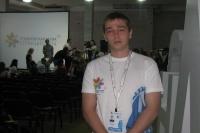 Студент ЧИ БГУЭП принимает участие в работе направления «Медиафорум» на фестивале «Студенческая весна стран ШОС»